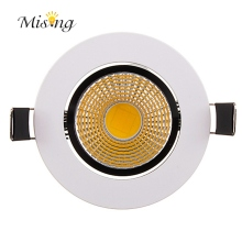Mising 5W Dimmable 9W COB LED Downlight 220V AC Recessed Spotlight Ceiling LED Down Light Set Spotlight Lamp