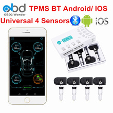 Best Price Auto TPMS Bluetooth Tire Pressure Test Tool Car TPMS VC601A For Android IOS APP Display Tire Pressure Monitor System