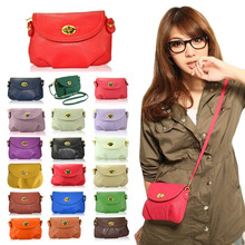New  Fashion Women's Cute Wallets Crossbody Retro Small Bags Solid PU Leather Bag