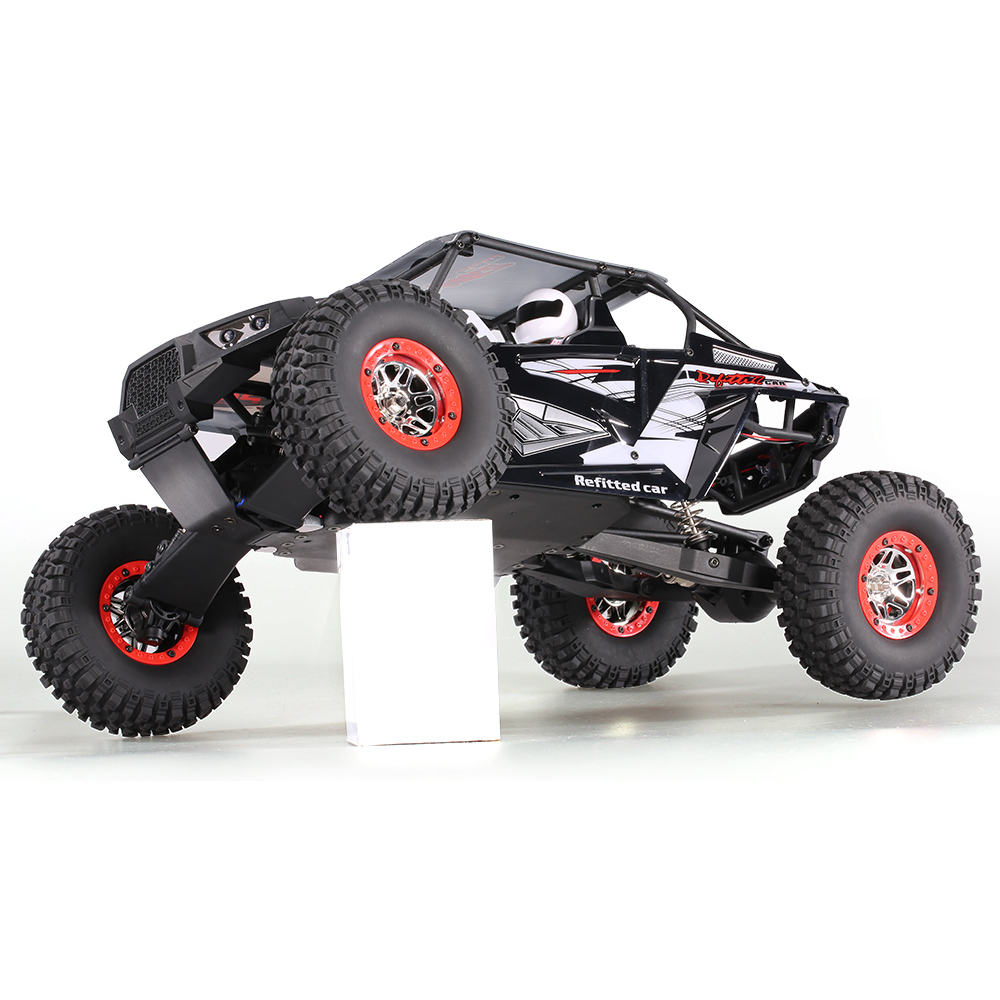 Cool Remote Control Climbing Car SUV 10428-B2 110 2.4G 4WD Electronic Rock Crawler Off-Road Buggy Desert Baja RC Cars RTR (6)