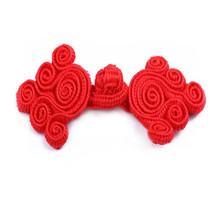 DoreenBeads 2017 Hot Sale Chinese Frog Buttons Vintage Style Chinese Knot Buttons For Women Children Tang Suit Dress Hats 1Pair