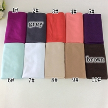 Jersey Hijabs Plain Shawl Soft And Elasticity Type Strech Shawls And Scarves ,Magic Scarf , 2015 New Arrival,21 colors