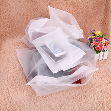 1Pcs Translucent Pull Edge Travel Pouch Waterproof Luggage Storage Bag Sealing Bags Clothing Underwear Sorting Bags