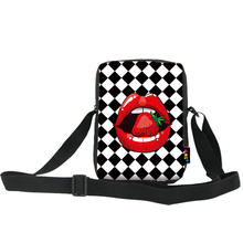 ONE2 Design single shoulder messenger for teenager boys girls  long strip university high school students with Flaming Lips bag