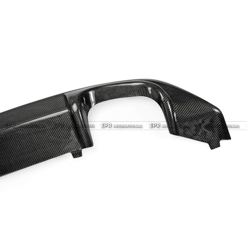 VW Scirocco (Facelifted) OEM Rear DIffuser CF(9)_1