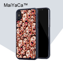MaiYaCa Supernatural Dean Winchester Phone Case for iPhone X Luxury TPU Soft Rubber Mobile Phone Back Shell for iPhone X Case(China)