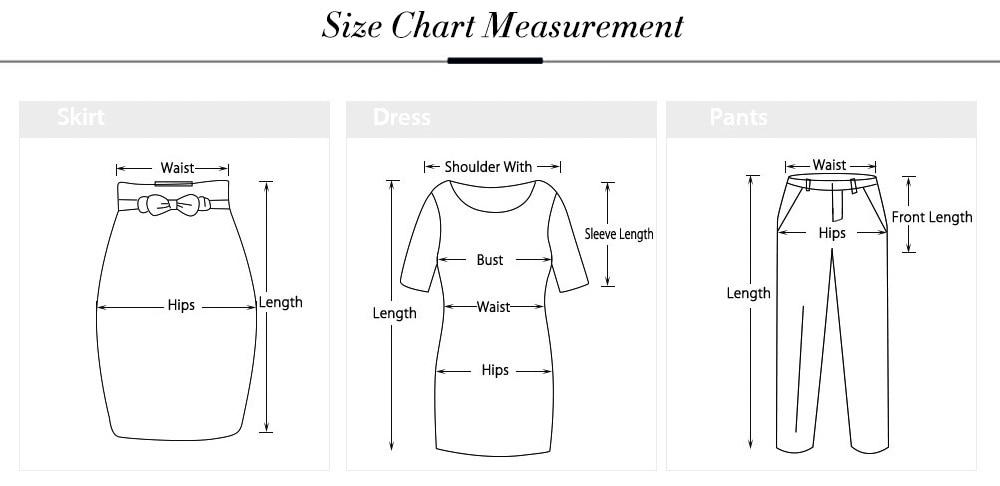size chart -NE