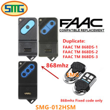 2pcs free shipping FAAC tm 868ds-1 FAAC tm 868ds2 TM 868ds-3 Universal Radio Control Remote 868mhz fixed code(China)
