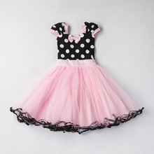 Summer Kids Dresses For Girls Cute Baby Pattern Dress Princess Party Costume Bebes Vestidos Clothing Infant Child Clothes