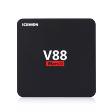 Buy SCISHION V88 Mars II Android 6.0 Quad-core Cortex-A7 Smart TV Box 2GB 8GB 32Bit Wifi Set Top TV Support RJ45 HDMI H.264 H.265 for $29.99 in AliExpress store