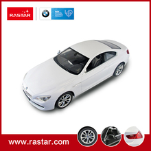 Rastar licensed car R/C 1:14 BMW 6 Series car toys 2017 simulation RC Speed Car with lights 42600(China)