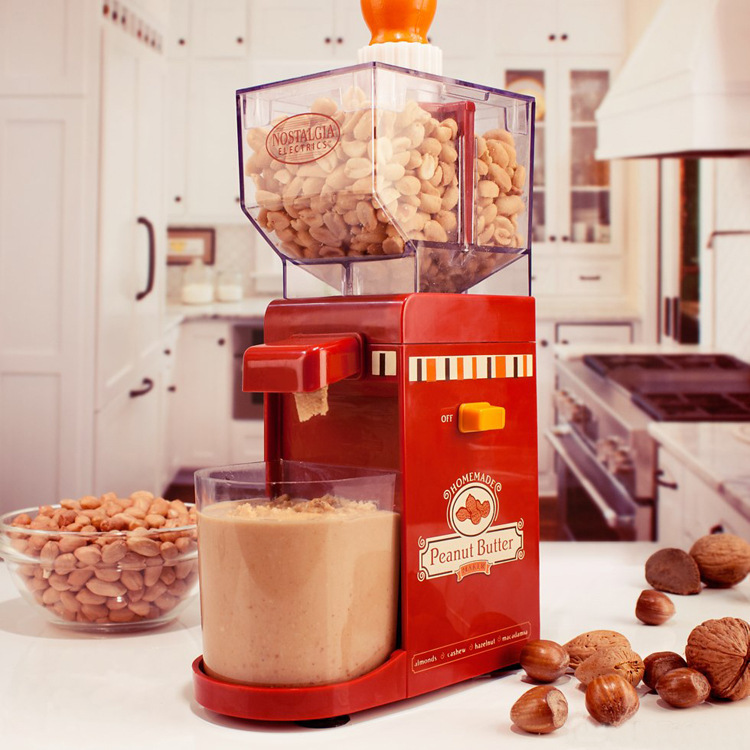 America electric small grinder machine household electric peanut butter maker<br>