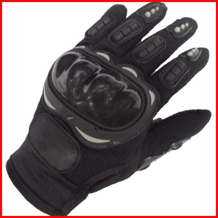 Spot supply Wuzhi riding sports equipment motorcycle racing gloves (plastic palm slip)<br>