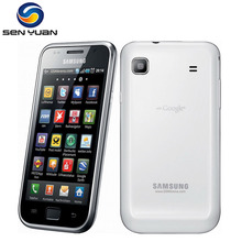 "Original Samsung I9000 Galaxy S Mobile Phone 3G WiFi GPS 5MP 4.0"" Touchscreen 8GB ROM 512 RAM i9000 cell phone(China)"