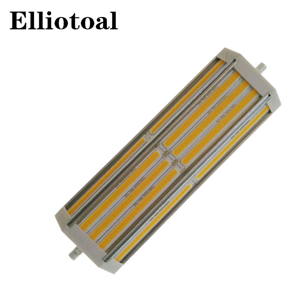 DHL free shipping r7s led 189mm 50W cob light  Lawn Lamp 3years warranty AC85-265V  Three colors selectable customized 10pcs/lot<br>