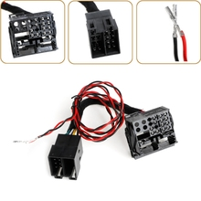 ISO To Quadlock Canbus Adapter Switch Cable RCD330 RCD510 RCD310 RNS510 Polo Jetta Golf Tiguan Passat CC