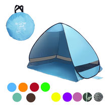 Anti UV 90% Automatic Quick Opening Pop Up Beach Tent 2 Person For Camping Hiking Garden Fishing Lake Park