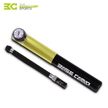 BASECAMP Bicycle Pump Mini Portable Bike Bicycle Tire Inflator Air Pump Parts Mountain Road MTB Cycling Air Press Frame K5804(China)