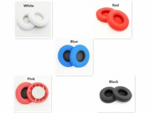 1 Pair Replacement Ear Pads Foam Earpads Pillow Ear Cushions Cups Repair Parts for Beats Solo 3 3.0 Wireless Headphones Headset