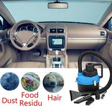 Car-styling 12V Wet Dry Car Vacuum Cleaner Portable Handheld Van Cigarette Lighter TD819 DROPSHIP(China)