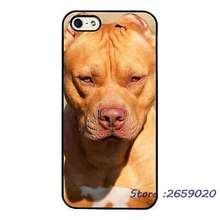 Pit Bull Dog Breed Chocolate mobile phone cover case for iPhone 5 6S Plus 7 7Plus Samsung Galaxy S5 S6 S7 edge S8 plus