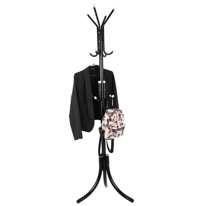 Homdox Metal Coat Cloth Hat Rack Hanger Stand Hanging Racks for Purse Handbag Jacket Scarf OSG005043 N30*<br>