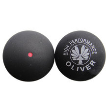 Oliver Natural Rubber Squash Ball Red Point For Beginners Intermediate Speed Indoor Sports Equipment High Quality 2014 Men&Women