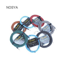 NOSYA 3M VINTAGE VOLTAGE Series Premium 6.5mm Male to Male Audio Connection Cable For Guitar Bass Amplifier Speaker Effector(China)