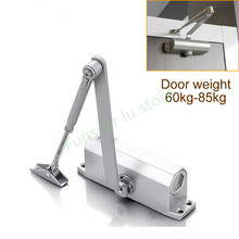 Fire door Hydraulic Buffer Door Closer,For 65kg-85kg door,strong and sturdy,adjustable Strength,protect fram, Door Hardware(China)