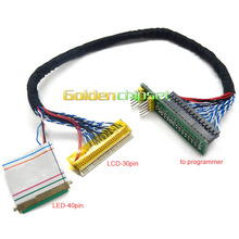 EDID Notebook LCD screen code chip data read line LED LCD 2 in 1 For RT809F Programmer