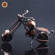 Welding Metal Craft New Iron Motorcycle Model Home Decor Ornaments Boy Birthday Festival Gifts