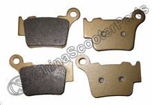 2 Pairs 4 PCS Rear Brake Pad For KTM SX XC EXC SXF XCF XCW SMR EXCR DIRT BIKE FA368(China)
