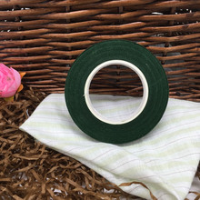 1PCS/lot 12mm 30 Yards Green Color Paper Tape For Nylon Stocking Flower And Butterfly Accessories DIY Handmade