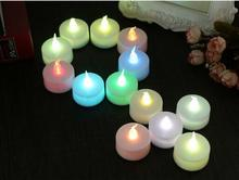 Ailin led Flickering Flicker Light Flameless LED Tealight Tea Candles Light toy Wedding Birthday Party Xmas Decoration