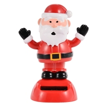 LeadingStar Solar Powered Dancing Flip Flap Car Home Desk Dancer Bobble Toy Animal Shape Christma Decoration Gadgets Toys(China)