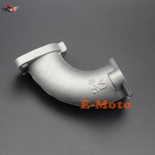 26mm Manifold Intake Pipe For Chinese 110cc 125cc 140cc YX Lifan Engine Pit Dirt Bike ATV 56-2(China)