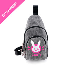 HOT GAME bags new game fans daily wear bag OW fans daily use bag DVA/GENJI/HANZO shoulder bag high quality material ab229-2