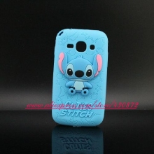 For Samsung Galaxy Ace 3 Cute 3D Silicon Stitch Cartoon Soft Telephone Case Cover for Samsung Galaxy Ace 3 S7272