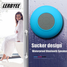 LONGET Bluetooth Speaker Portable Mini Wireless Waterproof Shower Speakers for Phone MP3 Bluetooth Receiver Car Speaker(China)