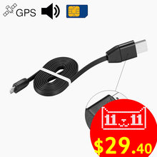Vehicle Car Locator GPS Activity Tracking Alarm Devices Tracker USB Cable Charger Listen Sound GSM GPRS for iPhone Android(China)