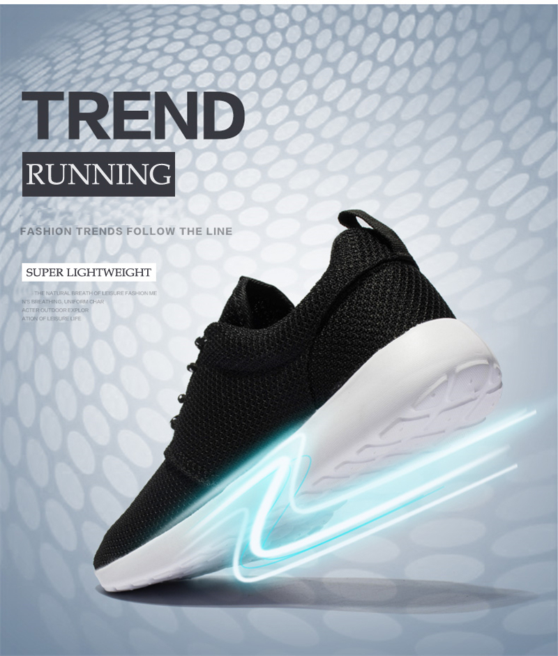 CASMAG Classic Men and Women Sneakers Outdoor Walking Lace up Breathable Mesh Super Light Jogging Sports Running Shoes 2