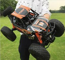 2017 Hot super large racing RC Car 2837 1:10 Scale 48CM all Terrain 4WD driving big foot RC Car rock climber off road car model