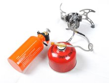 Free Shipping Oil/Gas Multi-Use Stove Cooking Stove Camping Stove Portable and Lightweight BRS-8(China)