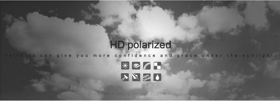 Polariseeritud moodsad unisex päikeseprillid