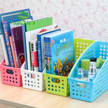 Plastic Office Desktop Finishing Paper File Storage Box Books Organizer Bag Large Utility Cover