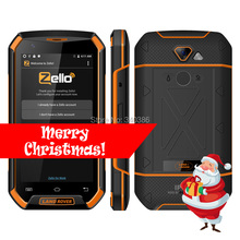 5 inch Quad Core 4G LTE Android 6.0 Smartphone UNIWA XP8800 Big Battery 1GB RAM 16GB ROM Walkie Talkie Waterproof Phones IP67