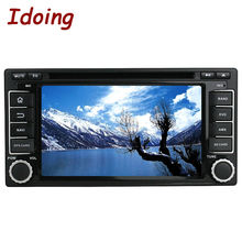 Idoing 6.2Inch Steering-Wheel Android6.0Car DVD Radio Player 2Din For Subaru Forester Impreza 2008 GPS Navigation 2G RAM 32G ROM(China)