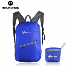 ROCKBROS Cycling Waterproof Bicycle Bag Leisure Sports Bags Ultralight Bike Backpack Breathable Portable Folding Backpack Bag