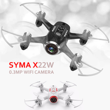 Buy Syma X22W Quadrocopter Mini Drones Camera 0.3MP 2.4G 6 Axis Dron Real Time Video RC Helicopter FPV Professional Quadcopter for $49.40 in AliExpress store