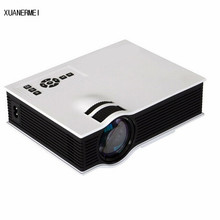 XUANERMEI Cheapest Home Theater Video LCD Low Cost 800lumens Digital Cinema HDMI Portable Mini LED 3D HD home Projector